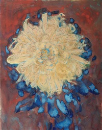chrysanthemum by piet mondrian