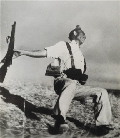 Death of a Loyalist Soldier by RobertCapa