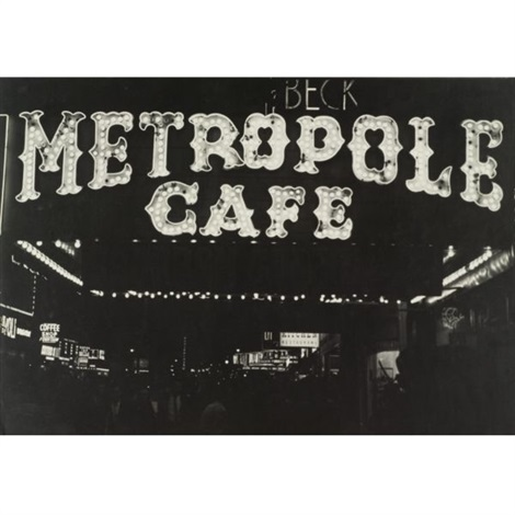 metropole cafe from new york 19 by roy decarava