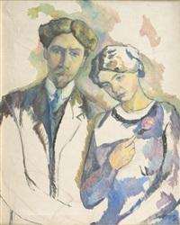 le couple by léopold survage