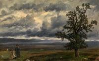 resting shepherds by etienne raffort
