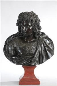 louis xiv enfant représenté en buste et en armure by françois girardon