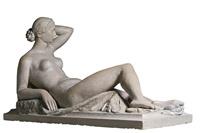 the original maquette of the muse allongée by louis eugène dejean