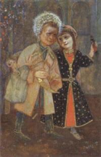 enfants cosaques by nabil
