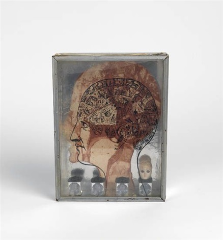 untitled phrenology box by betye saar