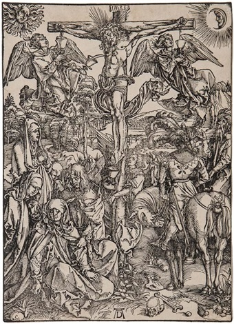 the crucifixion by albrecht dürer