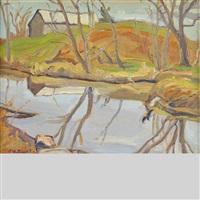 reflections - fallbrooke, ont by ralph wallace burton