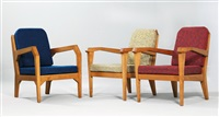 anthroposophical chairs (set of 3) by felix kayser