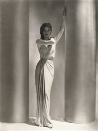 untitled (evening dress by alix, paris) by horst p. horst