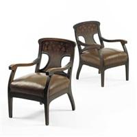 pair of armchairs by gaspar homar