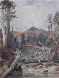 the haunt of the heron by samuel austin