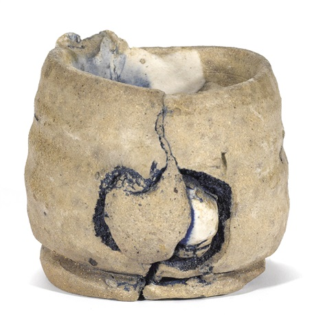 untitled tea bowl by peter voulkos