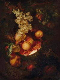nature morte de fruits by gerard joseph xavery