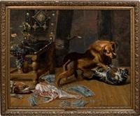 combat de chiens et de chats by frans snyders