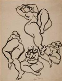 nude studies by joseph delaney