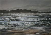 rhosneigr beach by aled prichard-jones