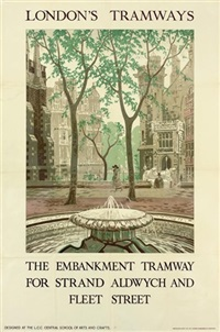 the embankment tramway by frank p. restall