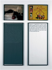douleur exquise, il y a 48 jours (diptych) by sophie calle