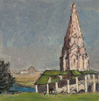 church of the ascension, kolomenskoye by paul ayshford methuen