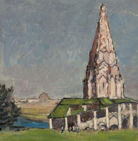 church of the ascension, kolomenskoye by paul ayshford methuen