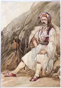 guerrier grec by antoine-alphonse monfort