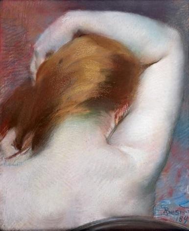 la nuque by albert besnard