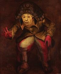 l'espiègle aux gants rouges by mario gruber