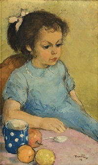 little girl by sever frentiu