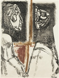 two profiles by robert colquhoun