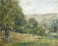 clecy, calvados by justin (joseph marie j.) gabriel