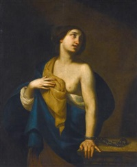 saint agatha by francesco de rosa