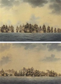 the battle off cape st. vincent, february 14th, 1797 by ralph willett, captain miller