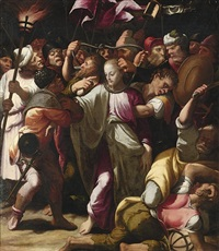 the arrest of christ by bernardino campi