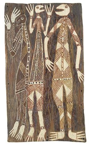 three mimih spirits by yirawala
