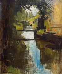 rivière paisible by franck antoine bail