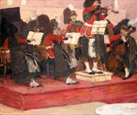 the scotts guards band by gösta von hennigs
