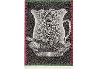 coffee cup by yayoi kusama