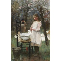 washing day by flora macdonald reid