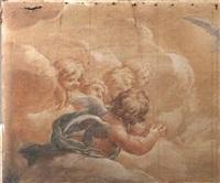 angeli in gloria by pietro da cortona