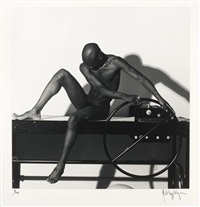 bruce thompson, san francisco 1980 (planche 8 du portfolio z) by robert mapplethorpe