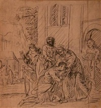 le retour du fils prodigue by anicet charles gabriel lemonnier