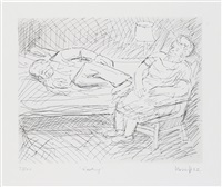 resting by leon kossoff