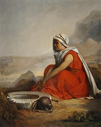 at the well by jean françois portaëls