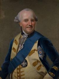 portrait des herzog ferdinand von braunschweig-lüneburg by johann georg ziesenis