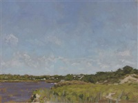 georgica cove, east hampton by james daga albinson
