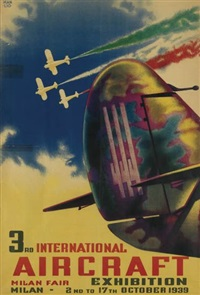 3rd international aircraft exhibition by manlio (manlio) parrini