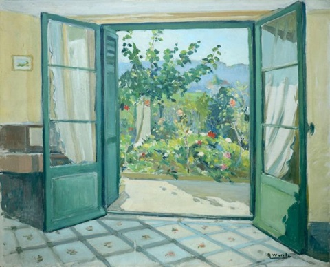 Porte Sur Le Jardin By Raymond Wintz On Artnet