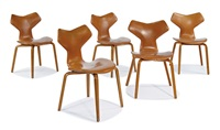 grand prix chairs (5) by arne jacobsen