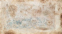 tote landschaft by paul klee
