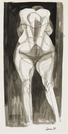 standing figure by rico lebrun